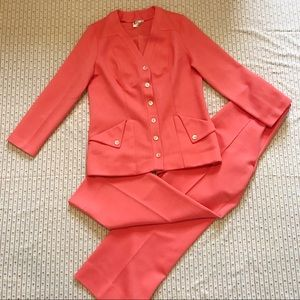 Peachy 70s Suit Set Large